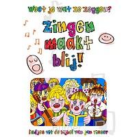 Zingen maakt blij muziekboek