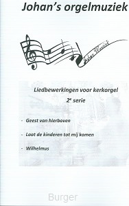 Liedbewerking serie 2 voor orgel