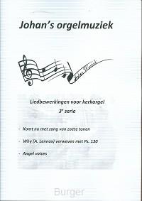 Liedbewerking serie 3 voor orgel