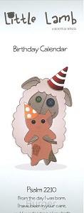 Verjaardagskalender little lamb