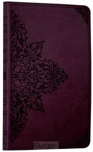 ESV thinline bible Chestnut leathersoft