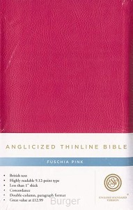 ESV Angicised thinline bible