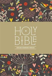ESV compact Bible Flower Softcover