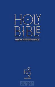 ESV pew bible blue hardcover