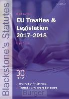 Blackstone's EU Treaties & Legislation