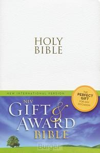NIV gift en award white