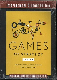 Games of Strategy 4e