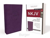 NKJV LP thinl. Bible Purple Lth.touch