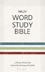 NKJV Word Study Bible Colour Hardcover