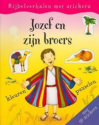 Stickerboek jozef en zijn broers