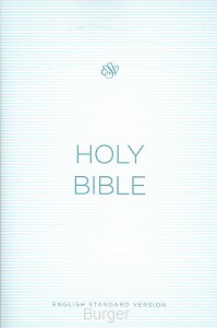 ESV economy bible blue paperback