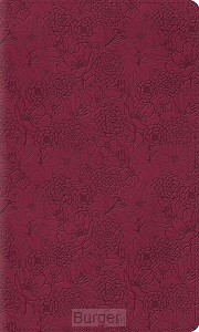 ESV bible thinline pink petals