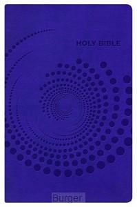 NKJV deluxe gift bible purple imit. leat