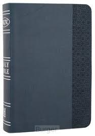 NKJV lp compact bible slate blue leather