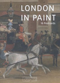 London in Paint. A book of postcards