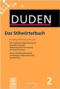 Duden 02. Das Stilwörterbuch