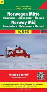 FuB Norwegen 02 Mitte 1 : 250 000. Auto- und