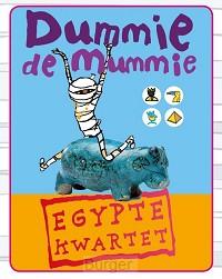 Dummie de mummie Egypte kwartet set