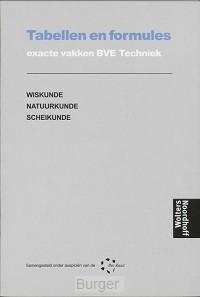 Techniek BVE Tabellen en formules