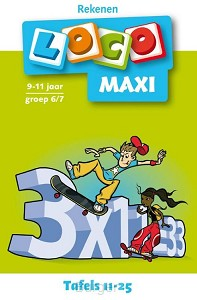 Maxi Loco Tafels 11-25