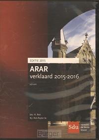 Cd-rom Arar Verklaard 2015-2016