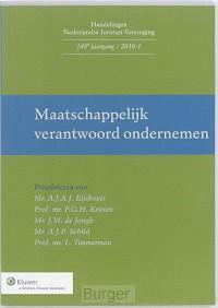 Handelingen Nederlandse Juristen-Vereniging Maatschappelijk verantwoord ondernemen