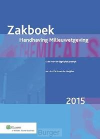Zakboek handhaving milieuwetgeving / 2015
