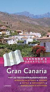 Lannoo's kaartgids Gran Canaria