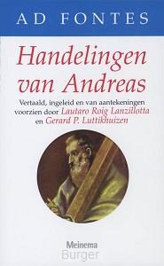 Ad Fontes De Handelingen van Andreas
