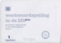 Werkwoordspelling in de lift - Plus Niveau 3 Poster algoritme