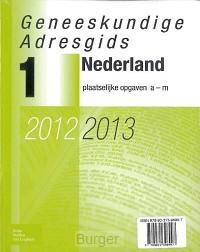 Geneeskundige Adresgids Nederland 2012-2013