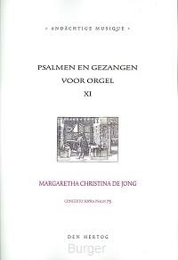 Psalmen en gezangen 11 voor orgel