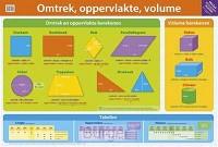 Educatieve posters; Oppervlakte, volume en inhoud
