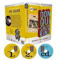40 Jaar Don Quishocking cabaret, 2 DVD's + CD + Boekje