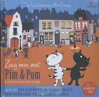 Pim en Pom pakket; Zing mee met en Poezenmanieren Boek + CD en GB
