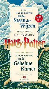 Harry Potter en Steen der Wijzen en Harry Potter en de Geheime Kamer, mp3 luisterboek