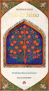 Ali en Nino, Kurban Said,8 cd's.Behoort tot de grote meesterwerken van de wereld-literatuur. Azerbeidzjan tijdens WO I. Gaat over de liefde tussen een jonge adellijke moslim en een christelijke Georgische prinses