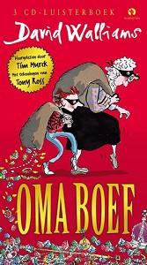 Oma Boef, luisterboek 3 CD's voorgelezen door Tim Murck