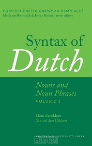 Syntax of Dutch / volume 2