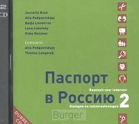 PASPORT V ROSSIJOE 2 DIALOGEN EN CD-AUDIO