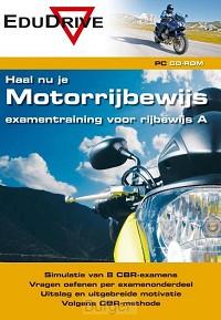 CD-rom Haal nu je Motorrijbewijs, examentraining voor rijbewijs A