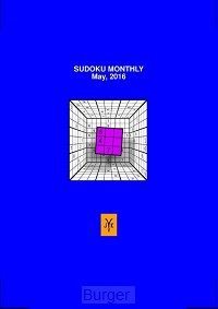 Sudoku monthly (May, 2016)