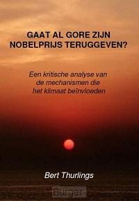Gaat Al Gore zijn Nobelprijs teruggeven?