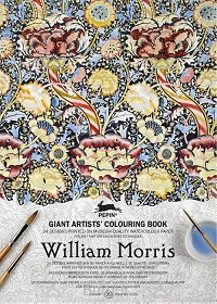 William Morris - Giant Artists' Colouring Book