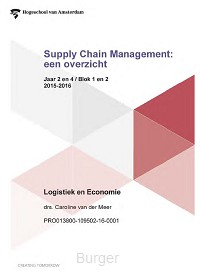 Supply Chain Management: een overzicht / Logistiek en economie