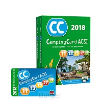 CampingCard ACSI  2018 - set 2 delen