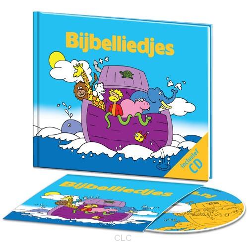 Bijbelliedjes/boek+cd – Div. Kinderliedjes