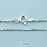 Silver necklace 42cm