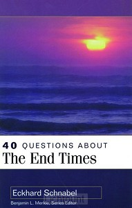 40 Questions about the end times