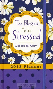 2018 planner too blessed